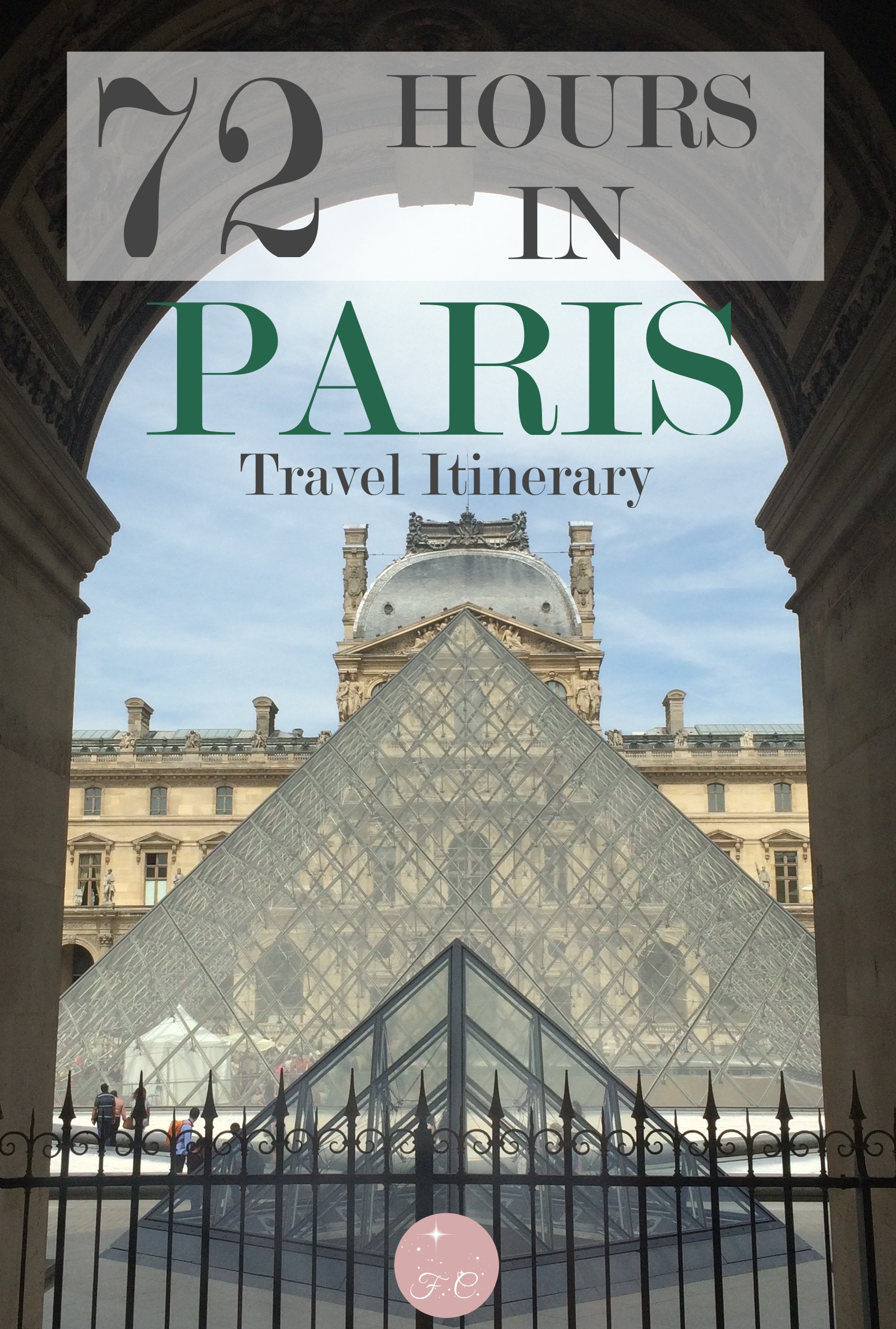 72 Hours In Paris, France - Travel Itinerary