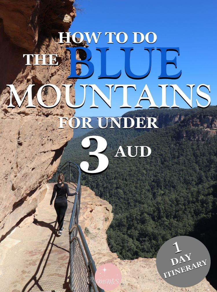 How to do the blue mountains for under 3 AUD